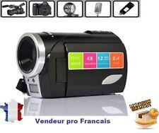 "Caméra Caméscope HD Photo Numerique 720P 12MP 4GB LCD 2.4"" FLASH USB DV"