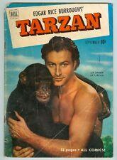 Tarzan #24 September 1951 G Photo Cover