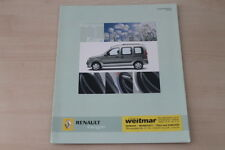 173853) Renault Kangoo - Edition - Prospekt 12/2004