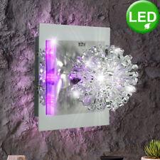 Design Deckenleuchte Deckenlampe lila LED Alu 170x170