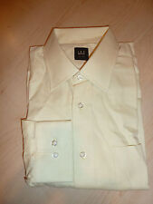 NEW $200+ IKE BEHAR Mens Dress SHIRT 16.5 36 Lemon Made in USA 100% Cotton BC