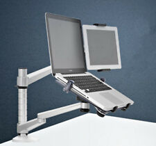 Double-Arm Laptop Stand Tablet Support Foldble Holder Bracket