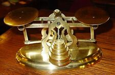 Antique Brass postal letter desk scale-Mordan & Co------------15294