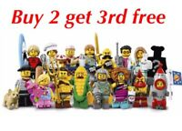 LEGO 71018 MINIFIGURES SERIES 17  CHOOSE YOUR FIGURES