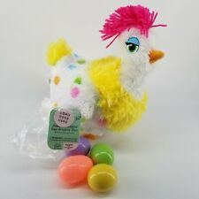 Hallmark Sassy Squawkin' Egg-Droppin' Hen Chicken Lays Easter Eggs Sound Motion