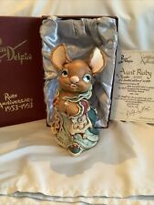 Pendelfin - Aunt Ruby - 40th Anniversary Piece (with Coa) - Made In England