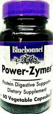 BlueBonnet Power-Zymes | Protein Digestive Support | 60 Vegetable Capsules