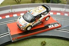 "A10158X3U0 SCX 1/32 SLOT CAR  CITROEN DS3 WRC ""ABU DHABI"""