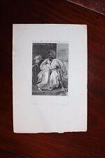 ✒ ca.1820 VOLTAIRE Les Loix de Minos - gravure par Devéria