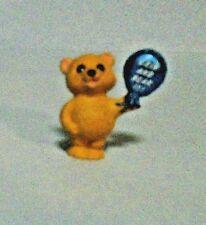 "1990 Hallmark Merry Miniatures Bear With ""Grin & Bear It"" Balloon"