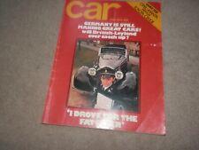 Car Magazine June 1972 Opel Manta Toyota Celica Mercedes 280E