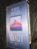 Charles Stanley In Touch Ministries True Freedom VHS Video Tape Movie