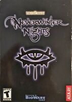 Neverwinter Nights Pc New Sealed Retail Box XP