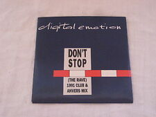 CD Digital Emotion Don't Stop 1991 Club & Anvers Mix