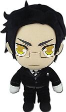 "*NEW* Black Butler II: Claude Faustus 8"" Black Stuffed Plush by GE Animation"