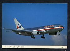 C1990's View of an American Airlines 767-223ER Aircraft.
