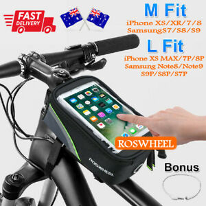 Sporting Bike Cycling Storage Bag Front Frame Bicycle Pouch For Iphone Samsung