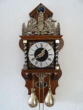 Zaanse Dutch BIG Wall Clock Vintage Antique (Warmink Hermle Junghans Era)