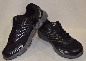 Fila Beyond Black/Silver/Grey Men's Running Shoes - Size 8 NWB