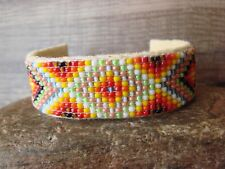 Navajo Indian Hand Beaded Bracelet by Jacklyn Cleveland