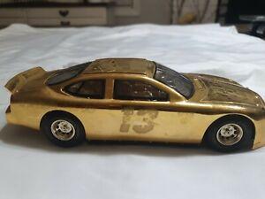Nascar 50th Anniversary 1:24 24K Gold  Car Racing Champions #50