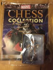 Eaglemoss Marvel Chess Collection Lady Deathstrike Black Pawn #46 with Magazine