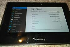 Tablet BlackBerry PlayBook 16GB, Wi-Fi, 7in - Black RDJ21WW