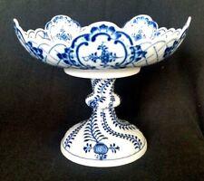 Meissen Vintage Blue Onion Porcelain Blue and White Compote
