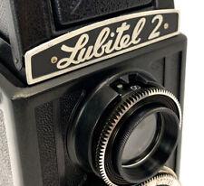 1970th!💫 LOMO LUBITEL-2 Soviet Made in USSR💫 TLR Medium Format 6x6 GOMZ Camera