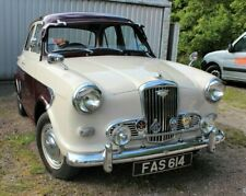 Beautifully Kept 1958 Wolseley 1500 in Beige & Maroon