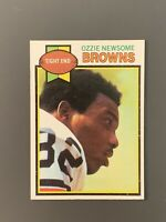 1979 Topps #308 Ozzie Newsome Rookie HOF Cleveland Browns EXMt-NM