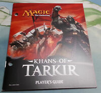 Khans of Tarkir  -   Fat Pack Player's Guide Book ONLY -  NM  MTG Magic Cards