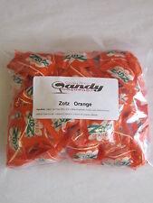 "Zotz Fizzy Candy "" Orange"" 1 Pound   Aprox  85 Pcs"
