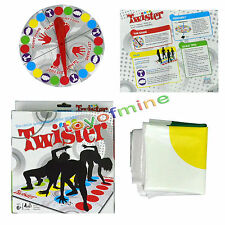 Funny Kids Body Twister Moves Mat Board Game Group Outdoor Sport Toy Gift