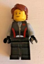Lego City Mini Figure Boy With Brown Hair