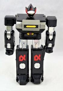Vintage 1984 Voltron II Black Robot Gladiator Warrior Figure