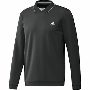 adidas Golf Thermal Primegreen Long Sleeve Polo Shirt / NEW 2021 (All Colours)