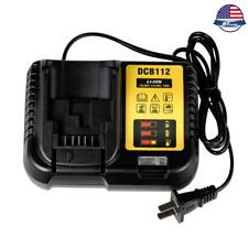 DCB112 lithium battery charger for Dewei DeWalt 14.4V/18V/20V fast charge