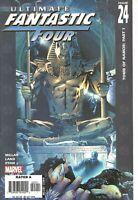 °ULTIMATE FANTASTIC FOUR #24 TOMB OF NAMOR #1 von 3° US Marvel 2005 Mark Millar