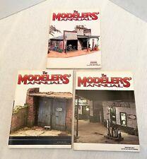 The Modelers' Annual Finescale Railroader Magazine Lot Winter 2008 2013 2014