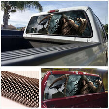 1 xunique posterior ventana gráfica Calcomanía Adhesivo para recoger la muerte cementerio Ventana Jeep