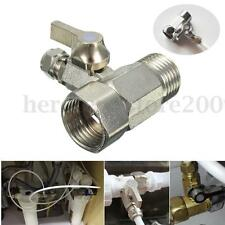 """RO Feed Water Filter Adapter 1/2"""" to 1/4'' Ball Valve Faucet Tap Reverse Osmosis"""