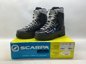 NEW Scarpa Vega High Altitude Mountaineering Double Boots Ice Climbing - Size...