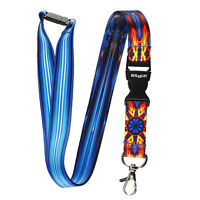 Multicolour ICE & FIRE Lanyard Neck Strap With Card/Badge Holder or Key Ring