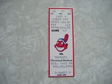 1993 Cleveland Indians vs Toronto Blue Jays Ticket Stub Aug 18 Rickey Henderson