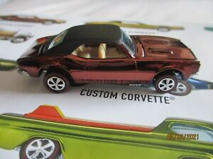 HOTWHEELS FROM REDLINE CLUB ORIGINAL 16 CAR DISPLAY SET CUSTOM CAMARO