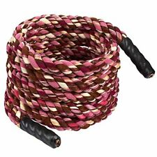 Fitness 20ft Heavy Battle Rope Climbing Training Strength Multicolored 1.5x240
