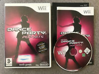 Wii Nintendo Game - DANCE PARTY POP HITS -  Complete with Instructions