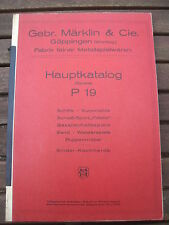 NACHDRUCK AUS 1974: MÄRKLIN HAUPTKATALOG (SPIELE) P 19 SCHIFFE AUTOMOBILE ETC