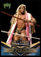 2018 Topps WWE Hall of Fame Tribute #17 Ultimate Warrior